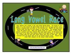 long vowels activity