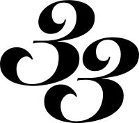 The numerology number 33 is a number of family, harmony, and creative self-expression. http://affinitynumerology.com/number-meanings/number-33-meaning.php
