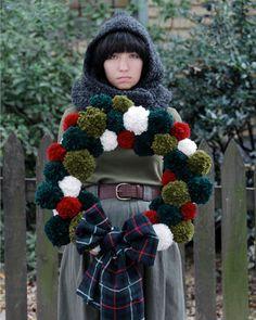 Christmas wreath for front door...