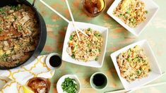 This Chinese fried rice has the flavor those other recipes are missing. Tastes like takeout. I want to dedicate this dish to Bergy, whose recipe Rice Recipes, Asian Recipes, Chicken Recipes, Cooking Recipes, Ethnic Recipes, Asian Foods, Chinese Recipes, Cooking Rice, Recipies