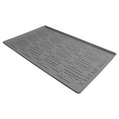 Protect your cabinets from damage caused by water leaks using this Xtreme Mats Grey Bathroom Vanity Depth Under Sink Cabinet Mat Drip Tray Shelf Liner. Kitchen Sink Storage, New Kitchen Cabinets, Base Cabinets, Grey Bathroom Vanity, Grey Bathrooms, Vinyl Shelf, Fitted Cabinets, Sink Mats, Drawer And Shelf Liners