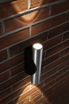 173 best garden exterior lighting images on pinterest diners stunning cylindrical up and down exterior wall washer led lamps built in low running costs in brushed aluminium and black powder coated aluminium mozeypictures Choice Image