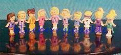 Items similar to Vintage Polly Pockets Dolls 10 Pak Mattel Bluebird Promo Style B Extremely Rare HTF Sealed Vtg on Etsy 90s Fashion, Vintage Fashion, Polly Pocket Dolls, Mattel Dolls, Blue Bird, Kids Toys, Seal, The Past, Family Guy