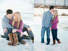 Winter engagements | Kimbry Studios Blog