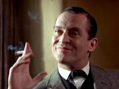 Jeremy Brett as Sherlock Holmes: The only man allowed to be so condescending and attractive at the same time!