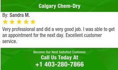 Very professional and did a very good job.  I was able to get an appointment for the next...