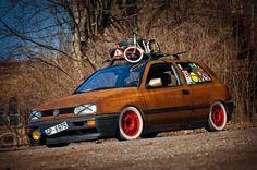 Volkswagen Golf III Rat Look: this ones for my babeh ;P