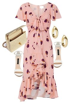 """""""Untitled #23605"""" by florencia95 ❤ liked on Polyvore featuring Forever New, Cinq à Sept, Argento Vivo and Chanel"""