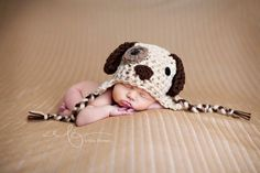 Baby Puppy Hat baby boy hat 35% off today by BellaMariesboutique MASSIVE SALE TODAY ONLY