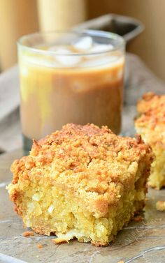 Coconut Coffee Cake.