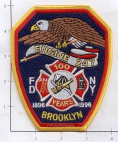 Engine 247 Fire Patch v5 Anniversary