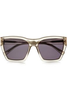 Marc by Marc Jacobs Square-frame acetate sunglasses | THE OUTNET £61 Original price £122 50% off
