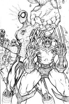 SPIDERMAN SAMPLE PAGE 1 Ok here is the final scan, I hope you liked it