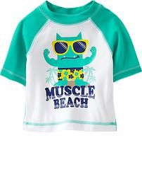 Graphic Rashguards for Baby
