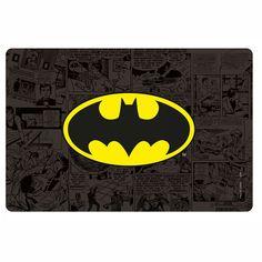 JOGO AMERICANO E PORTA-COPOS – BATMAN – DC COMICS (8 PEÇAS)
