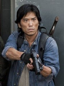 "My one-on-one interview with ""Falling Skies"" action star Peter Shinkoda:"