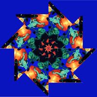 Debby Kratovil Quilts: Spinning Pinwheels- easier than stack n' whack.
