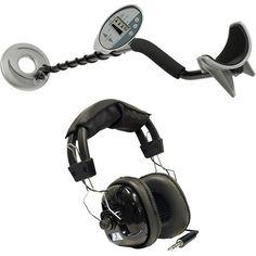 nice Bounty Hunter Discovery 1100 Metal Detector with Headphones