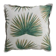 YAYA HOME | P FOR PALMPRINT | TROPICAL PRINTED CUSHION #Pforpalmprint #YAYASS16 #YAYAHOME #Cussion #Palmprint #Greentouch #Inyourhome #Decoration