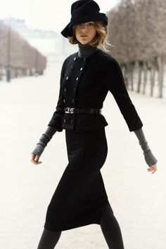 Dior women's skirt suit - whoo!  Cute