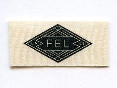 Fel Stich Label by Keith Davis Young Logo Branding, Logos, Lettering Design, Logo Design, Hipster Design, Beautiful Lettering, Vintage Typography, Stationery Design, Label Design