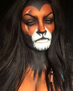 @Regrann from @natzbuzz - #scar #scarmakeup #thelionking #lionking #lionkingmakeup #disney #disneymakeup #5fingerssfx #disneyvillan #villan #makeup #mua #makeupartist #bodyart #bodypaint #facepaint #art #paint #irish #character #charactermakeup #dc #mk products by : @inglot_usa @nyxukcosmetics @nyxcosmetics @makeupforeverirl @makeupforeverofficial @officialsnazaroo