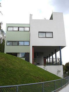Le Corbusier House - Street view 02