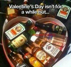 Mmm my kinda valentine's day!