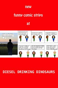 Diesel Drinking Dinosaurs Home Page Photography Website, Photography Tips, Funny Comic Strips, Good Humor, Number Two, Funny Comics, Dinosaurs, Diesel, Drinking