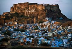 India. Rajasthan. Jodhpur, The Blue City. // by Steve McCurry
