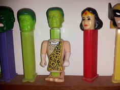The Hulk in the center was my first Pez from the 70's