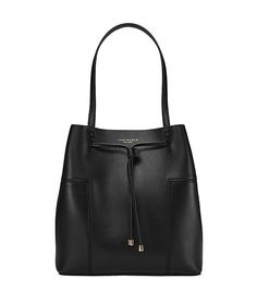 Visit Tory Burch to shop for Block-t Drawstring Tote and more Womens Totes. Find designer shoes, handbags, clothing & more of this season's latest styles from designer Tory Burch. Tory Burch, Tote Purse, Tote Handbags, Tote Bags, Leather Handbags, T Bucket, Bucket Bags, Cuir Nappa, Minimalist Bag