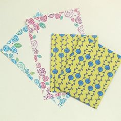 バラのぽち袋とポストカードセット カード・レター QK ハンドメイド通販・販売のCreema