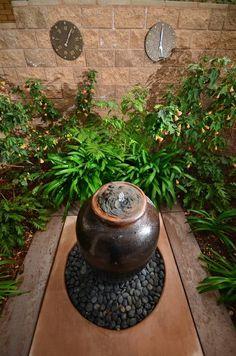 Idées pour créer votre fontaine de jardin moderne