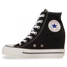 Converse PLATFORM PLUS Black ( 50) ❤ liked on Polyvore featuring shoes 8c5494d92d8