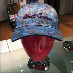 Look close in this Robert Graham Baseball Cap Merchandising, to see the cap signature and headform are coordinated rendered in matching colors. Retail Merchandising, Robert Graham, Baseball Cap, Hats, Baseball Hat, Retail, Hat, Retail Boutique, Hipster Hat