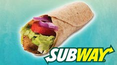 Subway just boosted its vegan menu by adding a meaty vegan garlic wrap. The sandwich comes with a vegan patty and dairy-free garlic aioli. Vegan Menu, Vegan Food, Whole Food Recipes, Vegan Recipes, Vegan Patties, Vegan Wraps, Vegetable Protein, Vegan Protein, Wrap Sandwiches