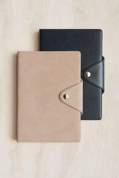 Delfonics prado leather B6 diaries