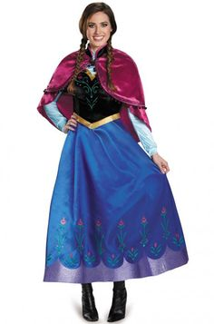 anna traveling prestige adult costume - Halloween Anna Costume