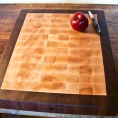 How I make an end-grain cutting board