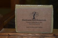 Coconut Milk Beauty Bar With Carrot Seed Oil & Oatmeal by hurricanehill. Explore more products on http://hurricanehill.etsy.com