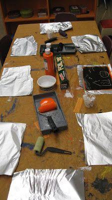 StrongStart: Tin Foil Painting