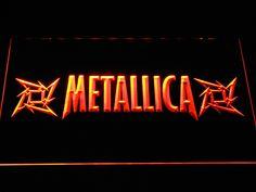 Metallica Stars LED Neon Sign