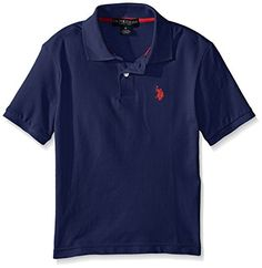 US Polo Assn Boys Classic Polo Shirt MarinaRed4 ** Check this awesome product by going to the link at the image.Note:It is affiliate link to Amazon.