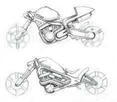 Bikes by Aaron Hughes at Coroflot.com