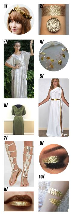 Greek Goddess Costume For Women