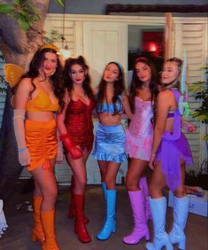 Cute Group Halloween Costumes, Trendy Halloween, Costumes For Teens, Cute Costumes, Halloween Outfits, Halloween Costumes For Redheads, 3 People Costumes, Halloween Inspo, Karneval Diy