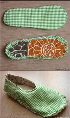 Easy 30 Sewing tutorials tips are available on our web pages. Sewing Slippers, Cute Slippers, Sewing Hacks, Sewing Tutorials, Sewing Projects, Sewing Tips, Crochet Shoes, Crochet Slippers, Bag Patterns To Sew