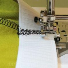 Sewing an Elastic Waist the Easy Way {Waistbands}