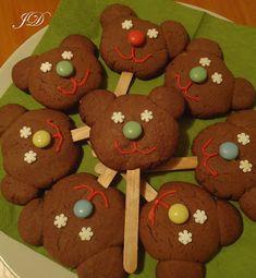 MACKÓS SÜTI Beginning Of Kindergarten, Snail Craft, 3 Bears, Bake Sale, Woodland Animals, Winter Food, Brown Bear, Gingerbread Cookies, Christmas Stockings